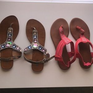 Shoes - Two pairs of sandals